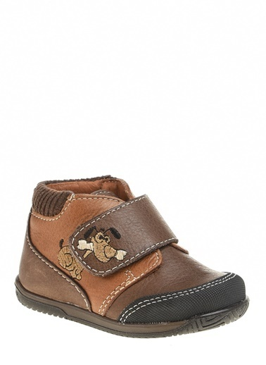 Kifidis Hakiki Deri İlk Adım Ayakkabı Kahve